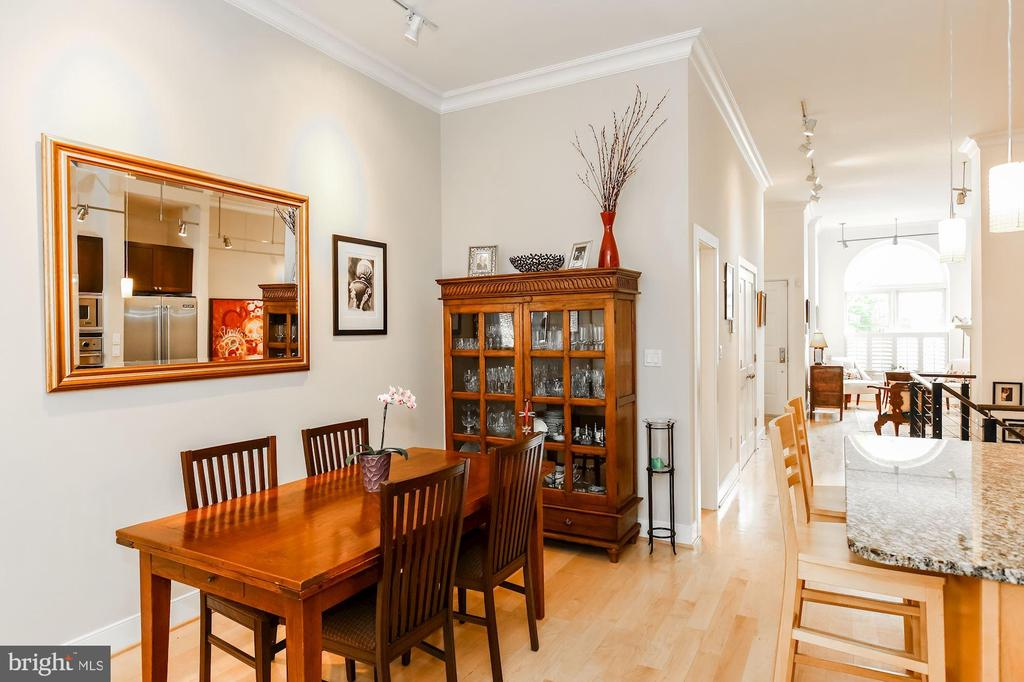 Dining room - 1641 13TH ST NW #A, WASHINGTON