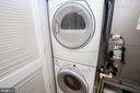 Full size in unit washer and dryer - 1641 13TH ST NW #A, WASHINGTON