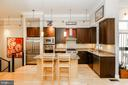 Kitchen is truly the center of the home - 1641 13TH ST NW #A, WASHINGTON