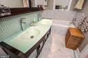 Large en-suite master bathroom - 1641 13TH ST NW #A, WASHINGTON