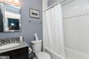 Spacious hall bathroom - 1641 13TH ST NW #A, WASHINGTON