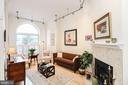 Large unique windows allow natural light to flood - 1641 13TH ST NW #A, WASHINGTON