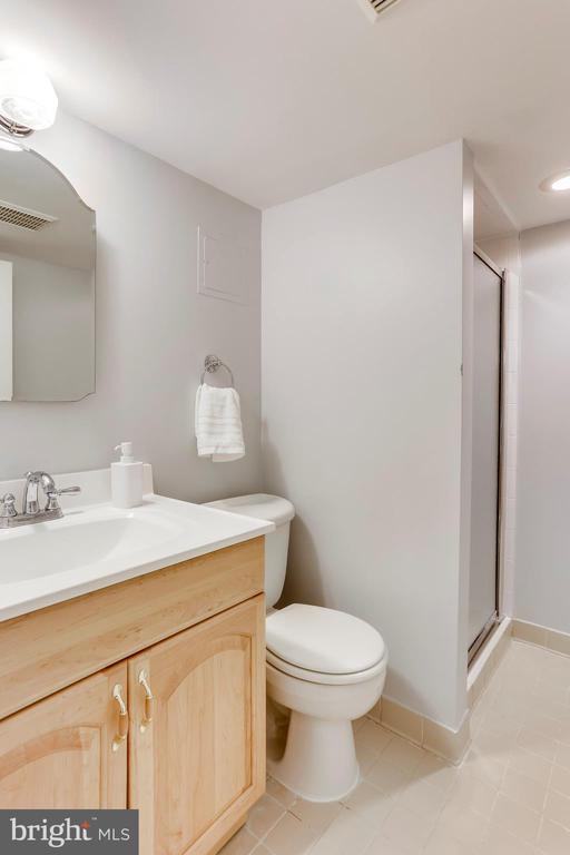 Full Bath on Lower Level - 2035 N TAYLOR ST, ARLINGTON