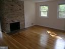 MASTER BEDROOM WITH GAS FIREPLACE - 4312 SOUTHWOOD DR, ALEXANDRIA