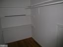 MASTER BEDROOM WALK-IN CLOSET - 4312 SOUTHWOOD DR, ALEXANDRIA
