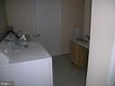 WASHER AND DRYER  ROOM  OFF KITCHEN - 4312 SOUTHWOOD DR, ALEXANDRIA