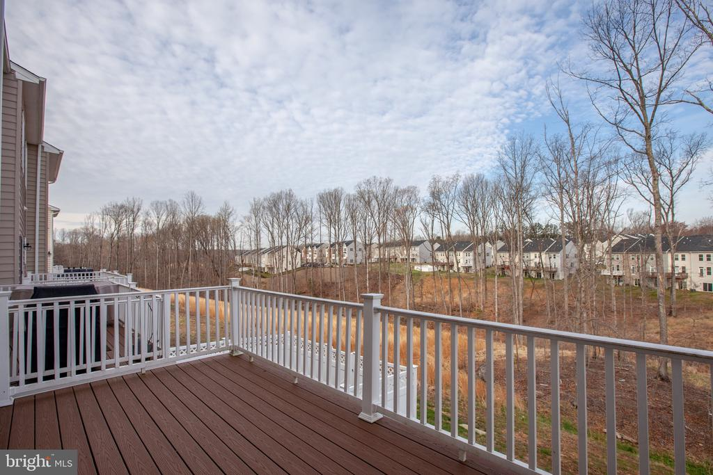 View from deck of community - 108 TREE LINE DR, FREDERICKSBURG