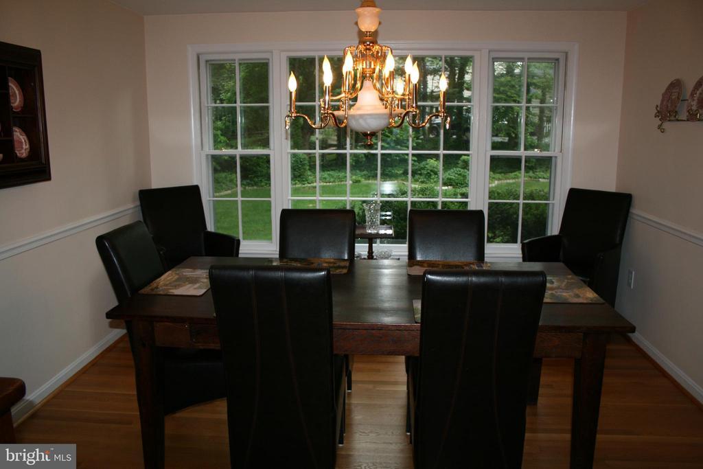 FURNISHED  DINING ROOM - 4312 SOUTHWOOD DR, ALEXANDRIA