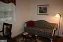 FURNISHED MASTER BEDRM SITTING ROOM OR FIFTH BEDRM - 4312 SOUTHWOOD DR, ALEXANDRIA