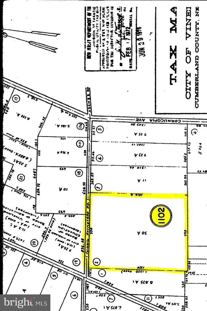 Land for Sale at Vineland, New Jersey 08361 United States