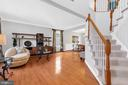 Gleaming hardwood floors - 43769 FARMSTEAD DR, LEESBURG