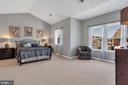 Dreamy and spacious master suite - 43769 FARMSTEAD DR, LEESBURG