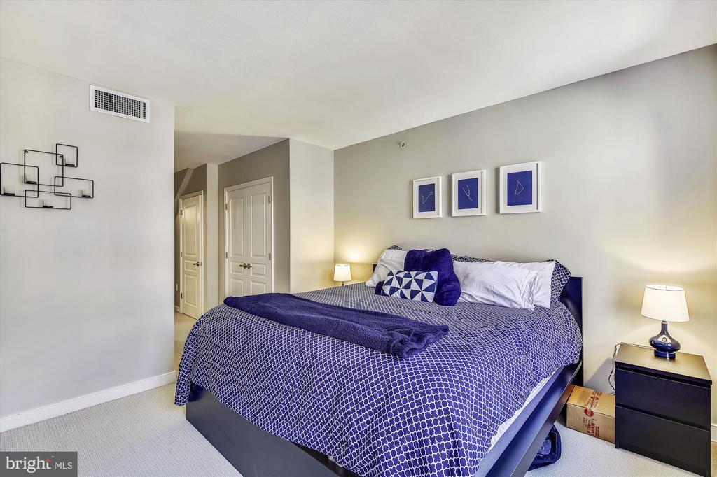 Master Bedroom with Walk-in Closet - 616 E ST NW #1155, WASHINGTON