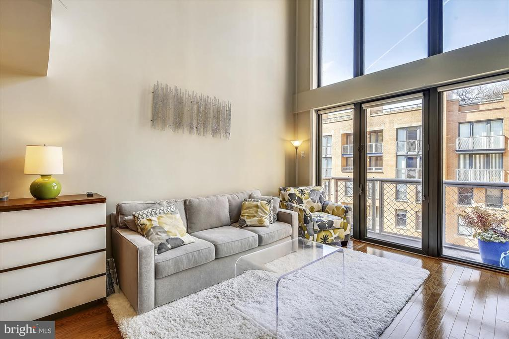 Living Room - 616 E ST NW #1155, WASHINGTON