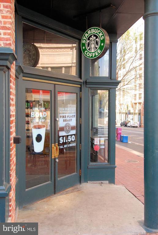 Starbucks on the corner - 616 E ST NW #1155, WASHINGTON