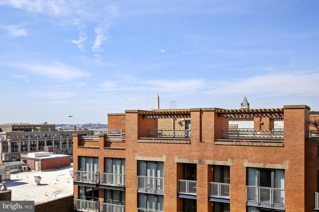 View From Private Rooftop Deck - 616 E ST NW #1155, WASHINGTON