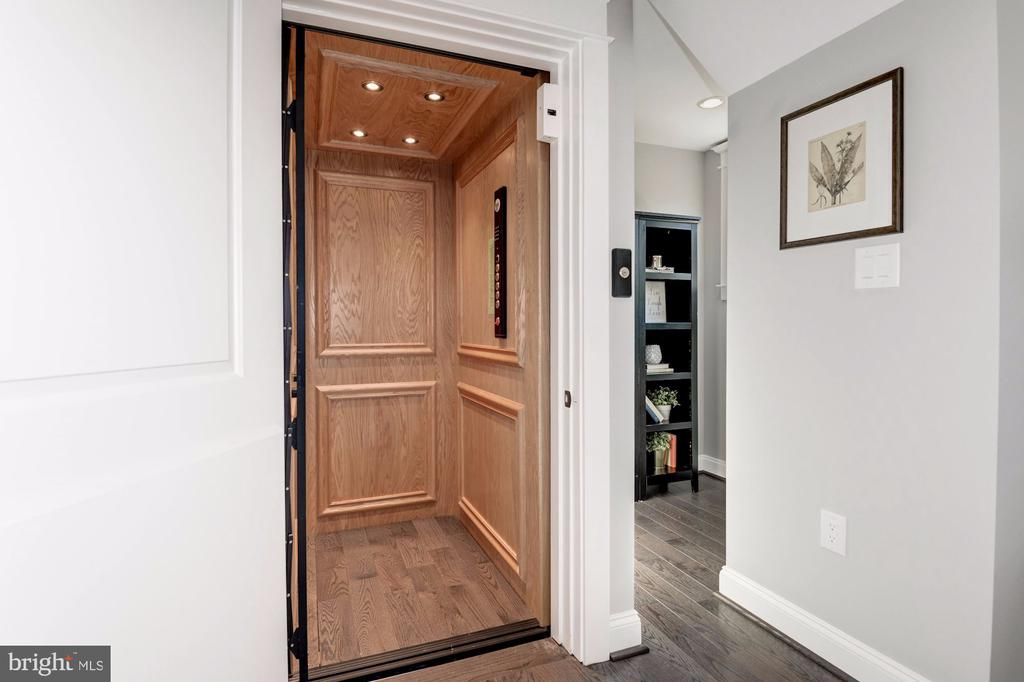 Elevator for Easy Access to All Four Floors - 2779 N WAKEFIELD ST, ARLINGTON