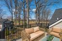 Forth Floor Deck  Overlooking Golf Course - 2779 N WAKEFIELD ST, ARLINGTON