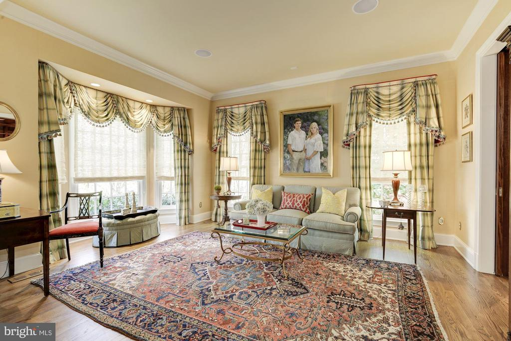 Gracious and bright living room - 224 W WINDSOR AVE, ALEXANDRIA