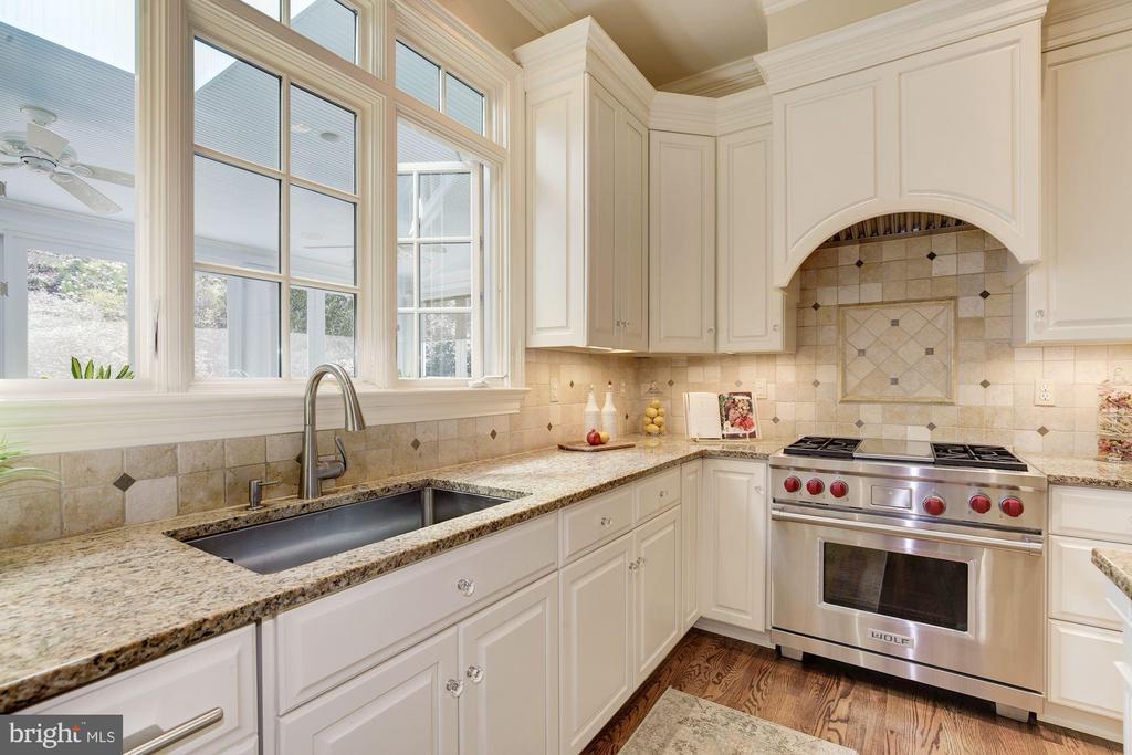Kitchen w/ high end appliances & 2 dishwashers - 224 W WINDSOR AVE, ALEXANDRIA