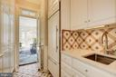 Mudroom has 2 closets, sink, bench & ample storage - 224 W WINDSOR AVE, ALEXANDRIA