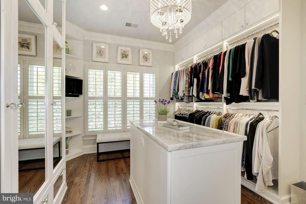 Ample storage for shoes, jewelry, bags-everything! - 224 W WINDSOR AVE, ALEXANDRIA