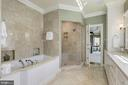 Dual shower, jetted tub & plenty of storage - 224 W WINDSOR AVE, ALEXANDRIA