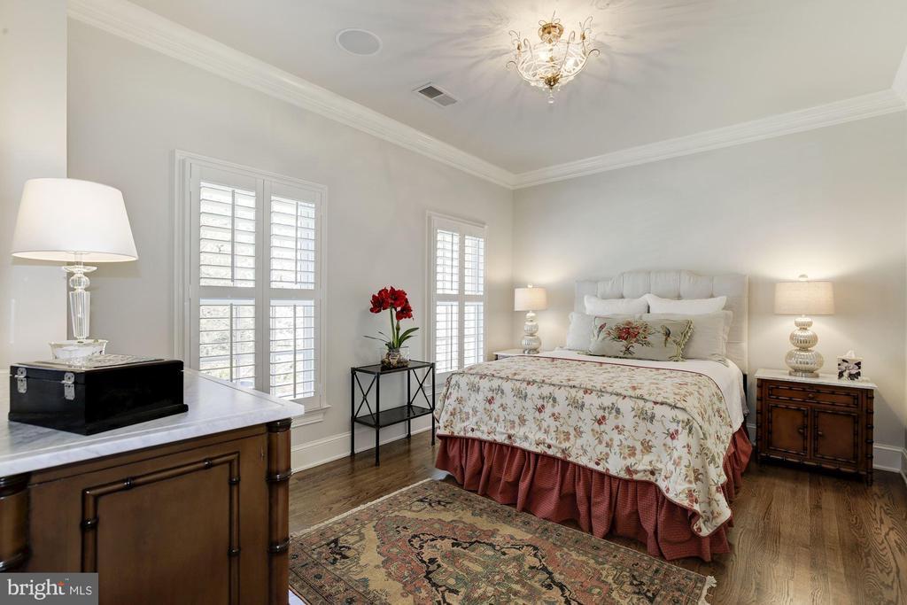 Bedroom w/ en suite bath & walk-in closet - 224 W WINDSOR AVE, ALEXANDRIA