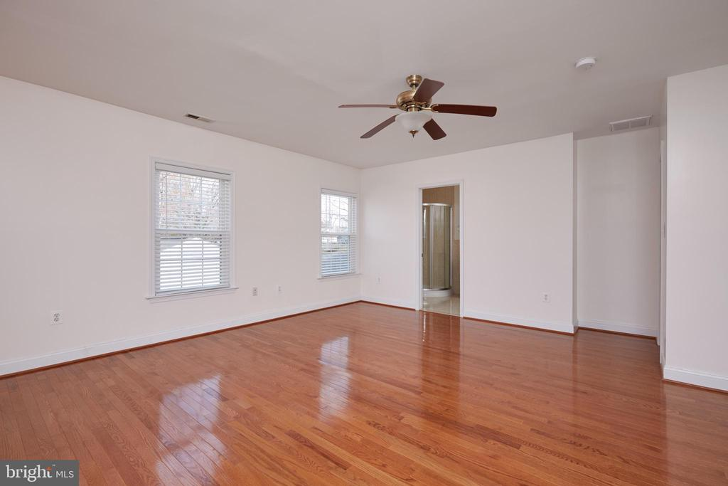 Master Bedroom, Great Light and Ceiling Fan - 3549 GORDON ST, FALLS CHURCH