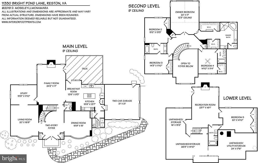 Floor plan - 11330 BRIGHT POND LN, RESTON