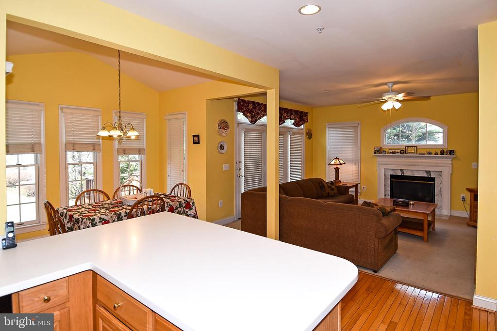Kitchen/Living Room View - 2224 GREAT FALLS ST, FALLS CHURCH
