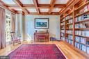 Library/Office with built-ins - 9110 DARA LN, GREAT FALLS