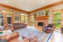 French doors to balcony & views of Pond - 9110 DARA LN, GREAT FALLS