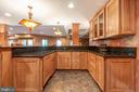 Lower level bar with fridge and dishwasher - 9110 DARA LN, GREAT FALLS