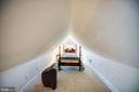 Finished attic could be fun 4th BR - 601 FAUQUIER ST, FREDERICKSBURG
