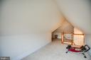 Finished attic space - 601 FAUQUIER ST, FREDERICKSBURG