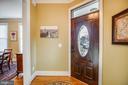 Entry Foyer - 601 FAUQUIER ST, FREDERICKSBURG
