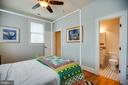 Bedroom #2 w/entrance to full bath #2 - 601 FAUQUIER ST, FREDERICKSBURG