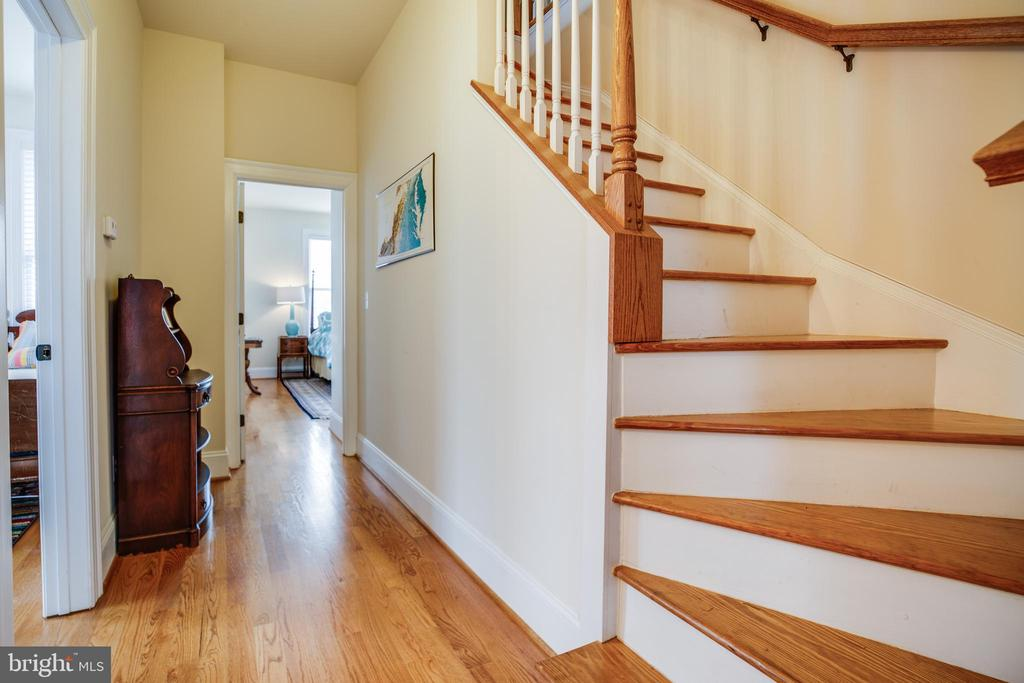 Second level hallway and stirs to finished attic - 601 FAUQUIER ST, FREDERICKSBURG
