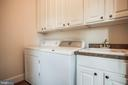 Main level laundry could become part of full bath - 601 FAUQUIER ST, FREDERICKSBURG