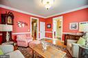 Bright and light Living room - 601 FAUQUIER ST, FREDERICKSBURG