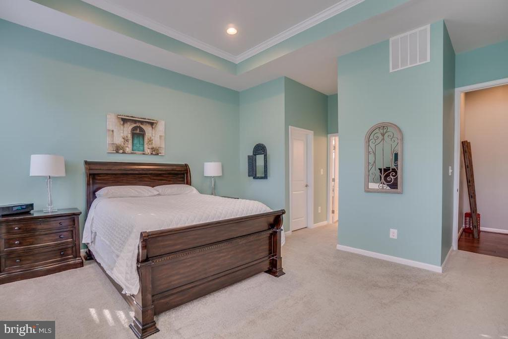 Huge Master Bedroom - 12472 SOUTHINGTON DR, WOODBRIDGE