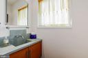 Modern Powder Room - 38950 PIGGOTT BOTTOM RD, HAMILTON