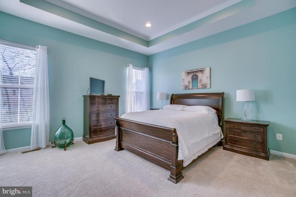 Master bedroom suite on Main level - 12472 SOUTHINGTON DR, WOODBRIDGE
