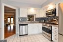 Kitchen with stainless steel appliances - 43535 POSTRAIL SQ, ASHBURN