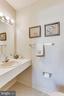 2nd Level Half Bath - 2102 MILITARY RD, ARLINGTON