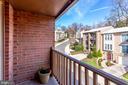 Balcony off of Living Rom - 2102 MILITARY RD, ARLINGTON