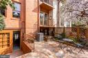 Patio is Private with Landscaping - 2102 MILITARY RD, ARLINGTON