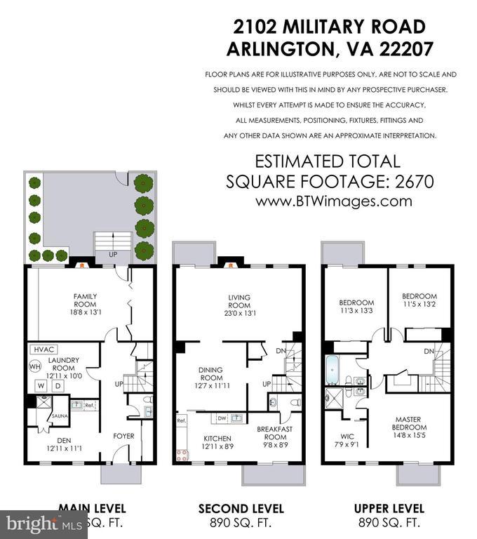 Floorplans - 2102 MILITARY RD, ARLINGTON