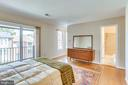 3rd Level Master Bedroom with Balcony - 2102 MILITARY RD, ARLINGTON